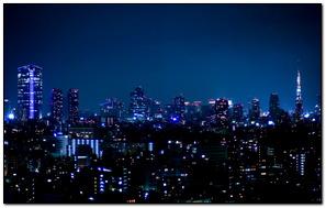 Beautiful Tokyo Night view