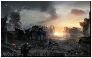 Modern War Army In City