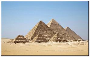 Piramidy Starożytny Egipt