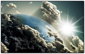 Vista de la Tierra