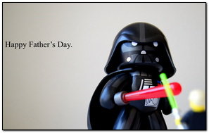 Father's Day vader