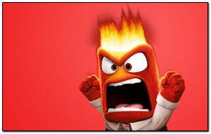 Bên trong năm 2015 Anger Disney Pixar