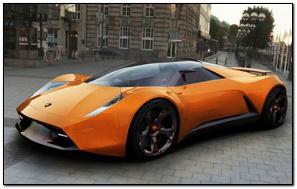 Samochód koncepcyjny Lamborghini Insecta