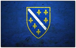 Flaga Bośni