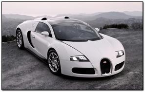 Biały veyron