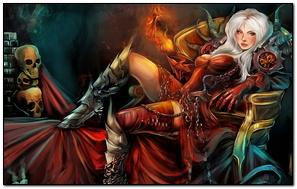 Gothic Magic Skull Warrior Armor