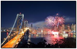 Nowy rok w San Francisco