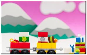 Christmas Lego Train