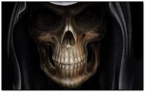Ciemna czaszka