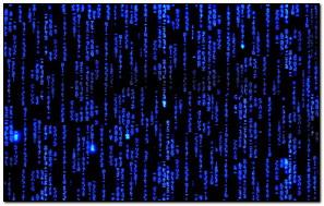 Ma trận Mã màu xanh (002)