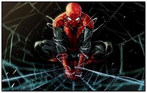 Floating Spiderman