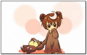 Anime Girl Cute Toy