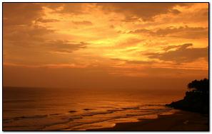 Sunset Nature Beach Water Light
