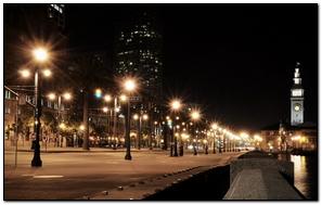 Usa City America Night Lights City