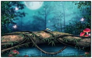 3D Art Photoshop Nature