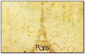 Paris Eiffel Tower Paper Drawing