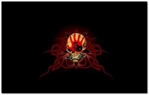5 Finger Death Punch Logo Skull Brass Knuckles
