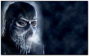 치명적 Kombat Sub Zero 얼음 냉연
