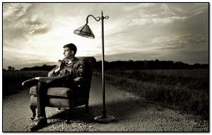 Man Sitting Chair