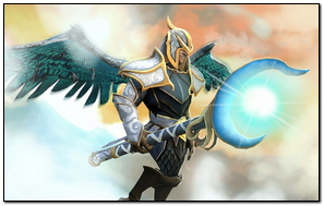 Skywrath Mage Dota 2 Art Rune Forged Set