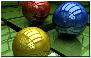 Balls Three Colored