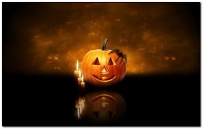 Lilin Labu Halloween