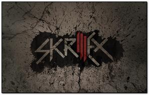Skrillex Name Font Graphics Background