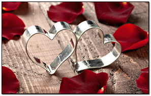 Heart Shape Metal Ring