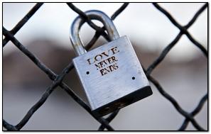 Love Lock Symbolic Eternity Romance