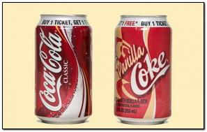 Coca Cola vanilla Cola vanilla Drink