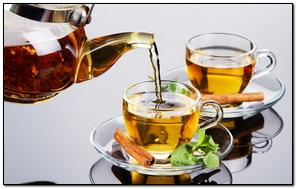Tea Cinnamon Mint Drink