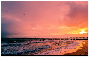Sunset Sea Sun Landscape