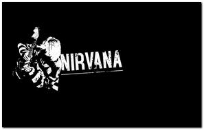 Nirvana Guitarist Sign Background Letters