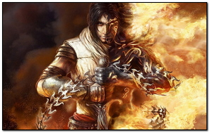 Prince Of Persia Game Hero Sword Fire