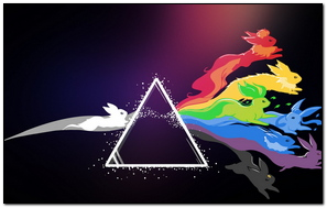 Pink Floyd Pokemon Bright Logo