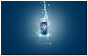 Pepsi Style Drink Brand Mark Logo