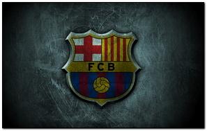Fc Barcelona Grunge Logo