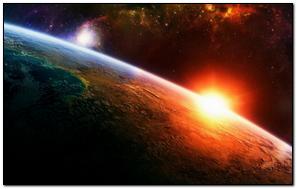 Sun Light Surface Earth Stars