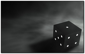 Cube 3D Graphics Black Gray Background