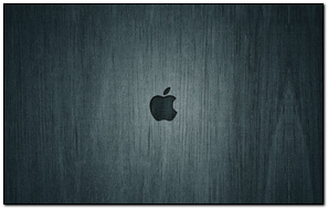 Apple Mac Background Black Brand Logo