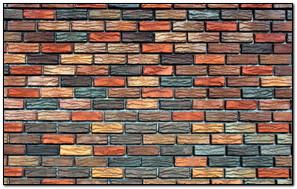 Bricks Texture Background Wall