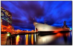 Ship At Night view