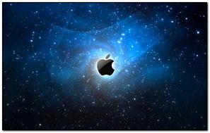 Apple Mac Brand Logo Heaven Stars Space