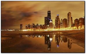 Thành phố Bóng đêm Chicago Bóng đêm bãi biển Tòa nhà