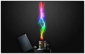 Color Fire Lighter