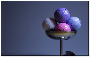 Golf Golf Balls Imitation Food