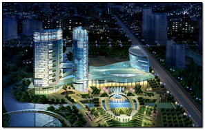 Project City Layout Blue