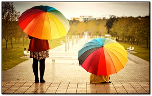 Parasole Colorful Kids Rainbow Weather Mood