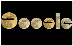Mặt trăng và mặt phẳng.