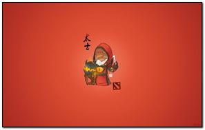 Warlock Dota 2 Chibi Simple Art